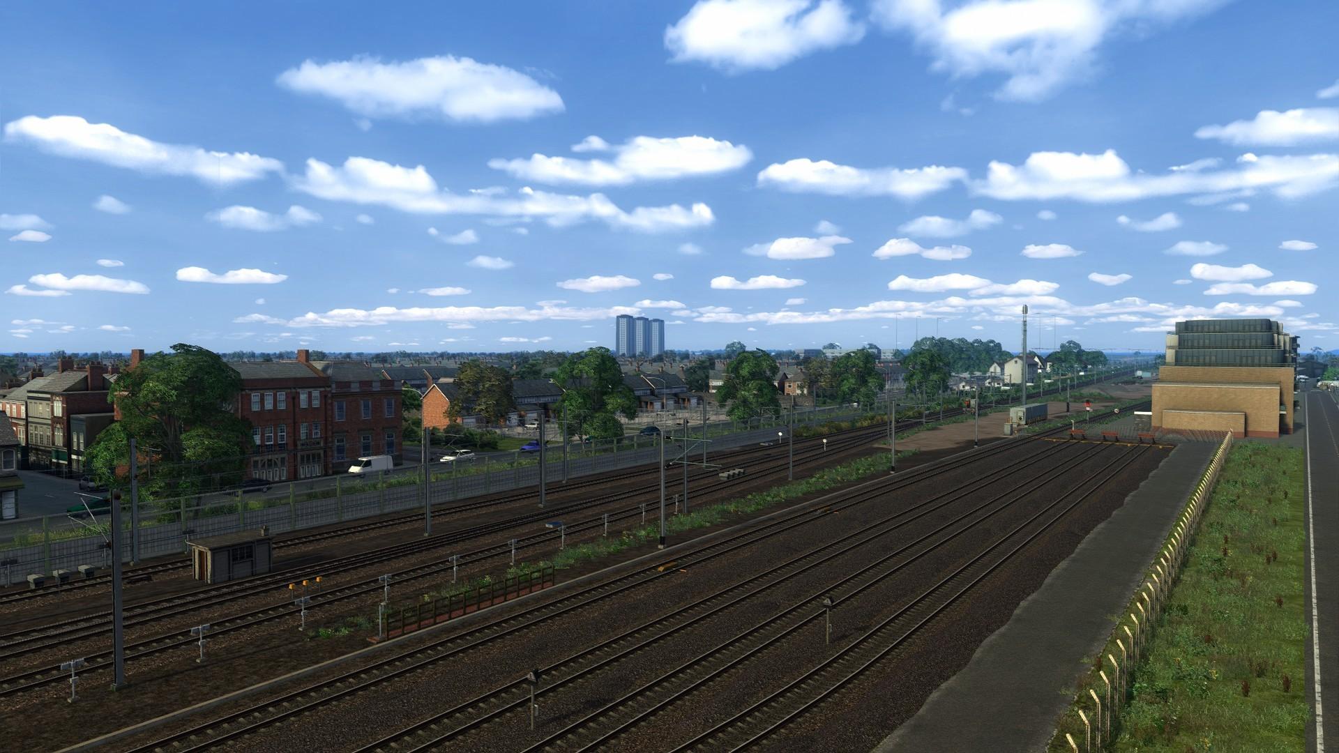 Serinathea sidings along the main line