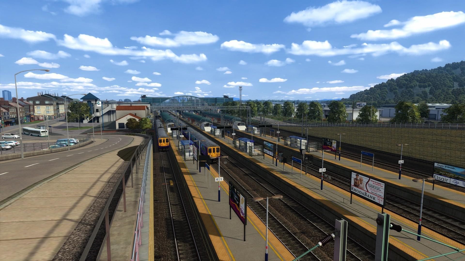 Serinathea railway station