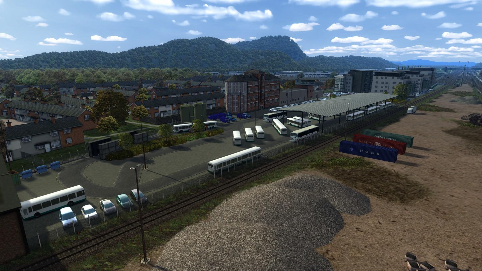 The bus depot of Serinathea